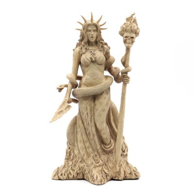 Hecate Goddess Statue