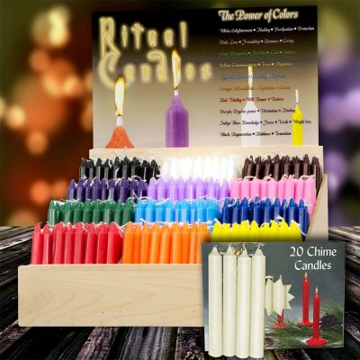 13 Set of Chime Candles