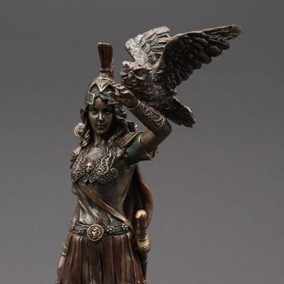 Athena Goddess Of Wisdom and War Statue