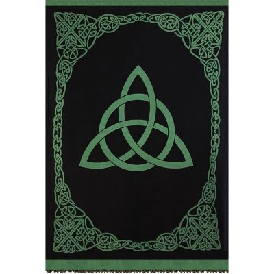 Triquetra Tapestry Single, Green