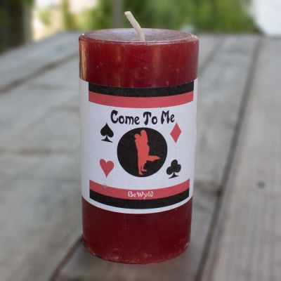 Come to Me Hoodoo Candle 2x3