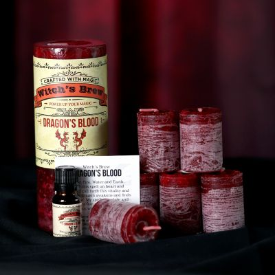 Dragons Blood Candle and Oil Set