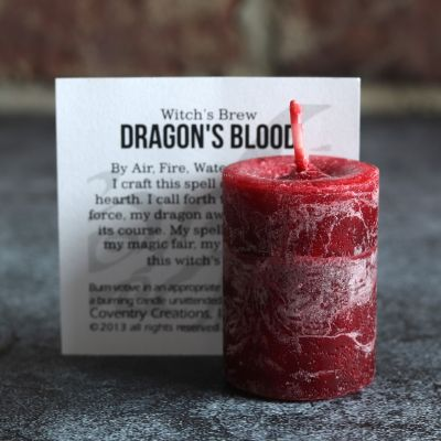 Votive, Witchs Brew Dragons Blood