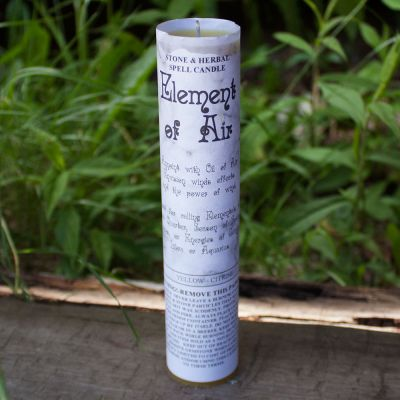Element of Air Spell Candle