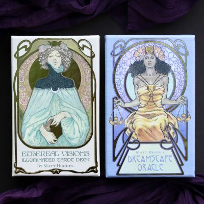 Ethereal Visions Tarot & Dreamscape Oracle Set