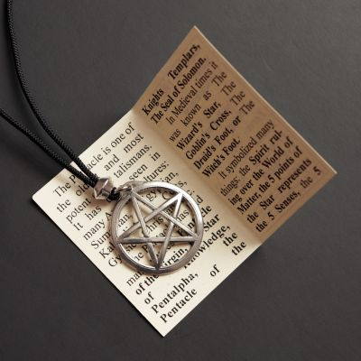 Pentacle Protection Pendant
