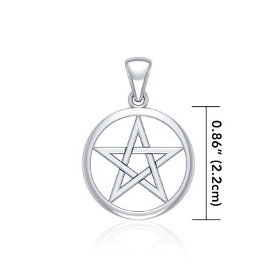 Pentacle Pendant, Small