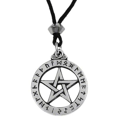 The Runic Pentacle Pendant - Small