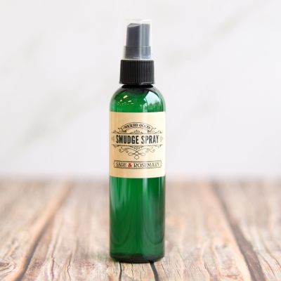 Smudge Spray: Sage and Rosemary Spray