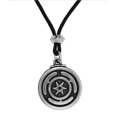 Talisman Wheel of Hecate Pendant
