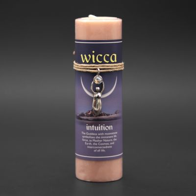 Wicca Intuition Candle with Pendant