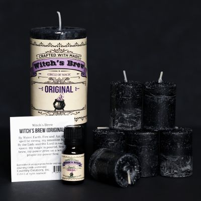 Witchs Brew Candle and Oil Set