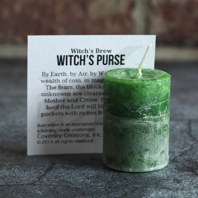 Votive, Witchs Brew Witchs Purse