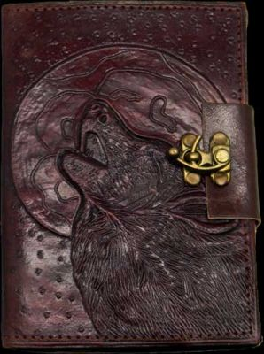 Wolf Moon Leather Journal