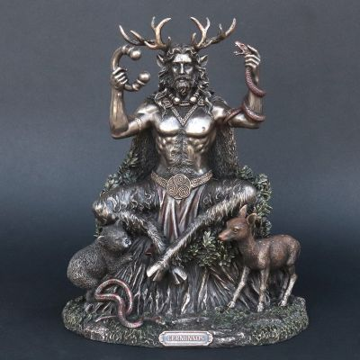 Cernunnos Celtic God Statue