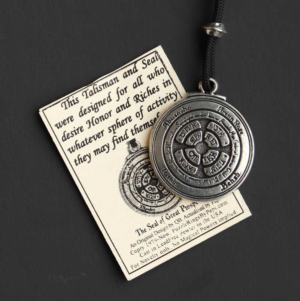 Honor and Riches Talisman