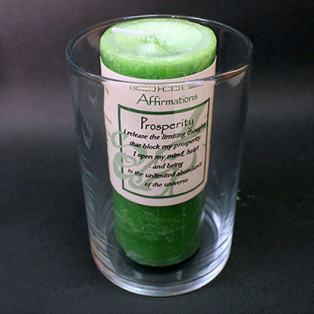 Affirmation and Wicked Witch Candle Holder
