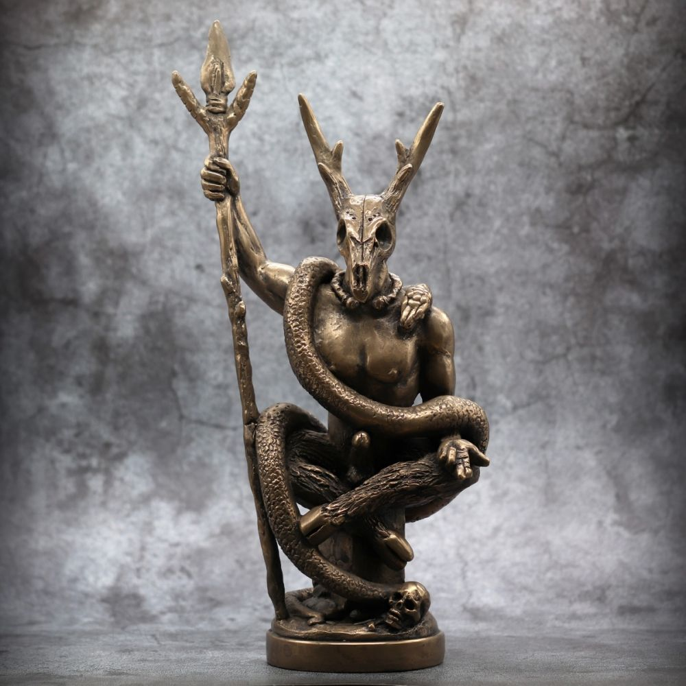 Witch Lord Statue