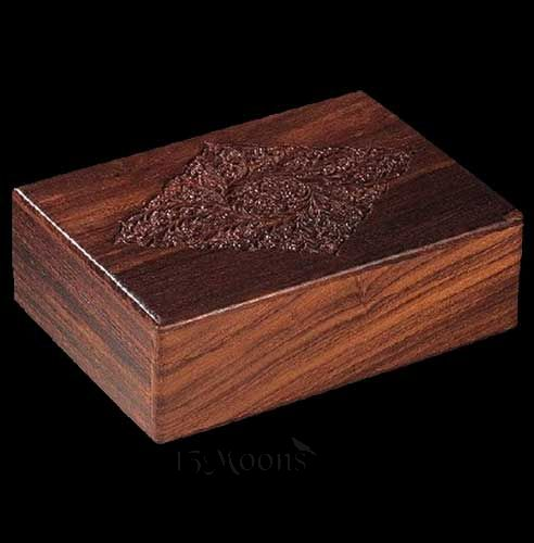 Carved Wood Box 8x11 - Sale