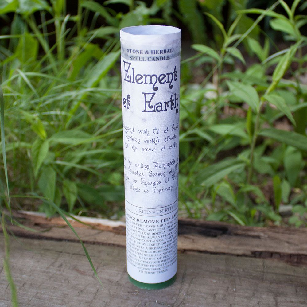 Element of Earth Spell Candle