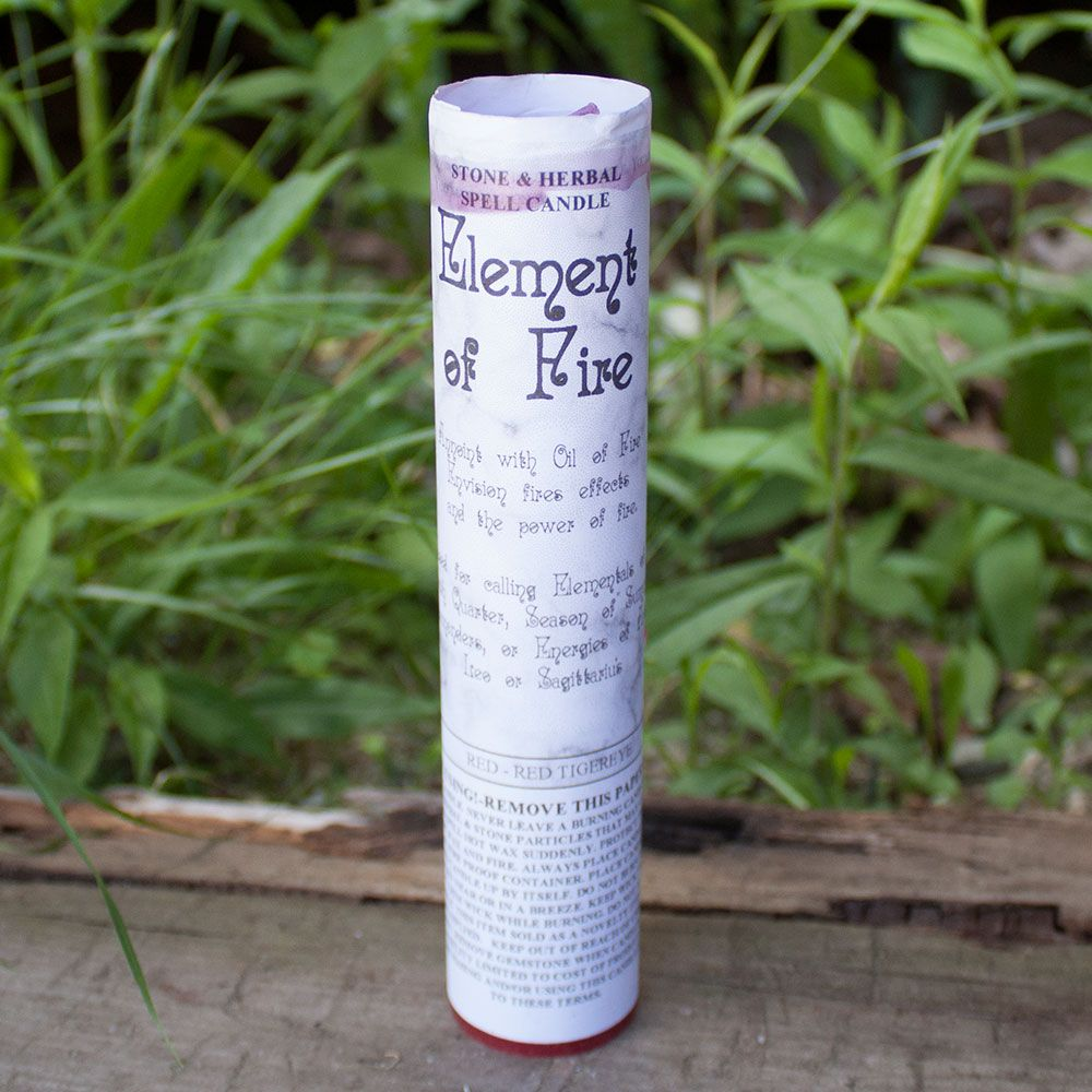 Element of Fire Spell Candle