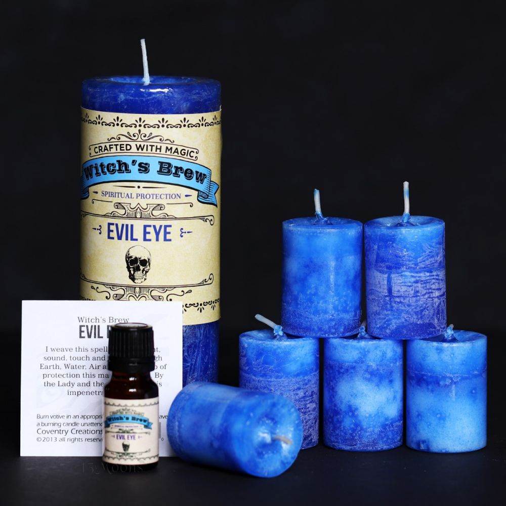 Evil Eye Candle and Oil Set