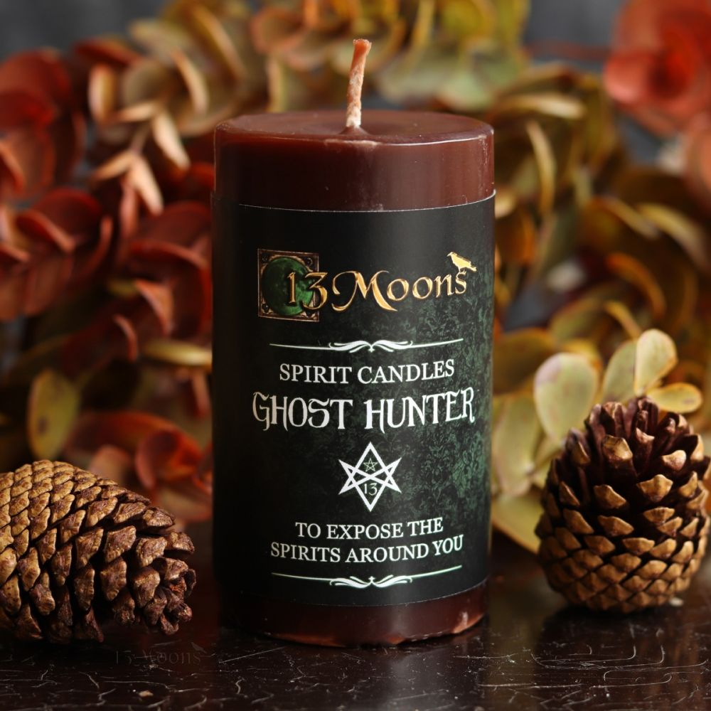Ghost Hunter Candle