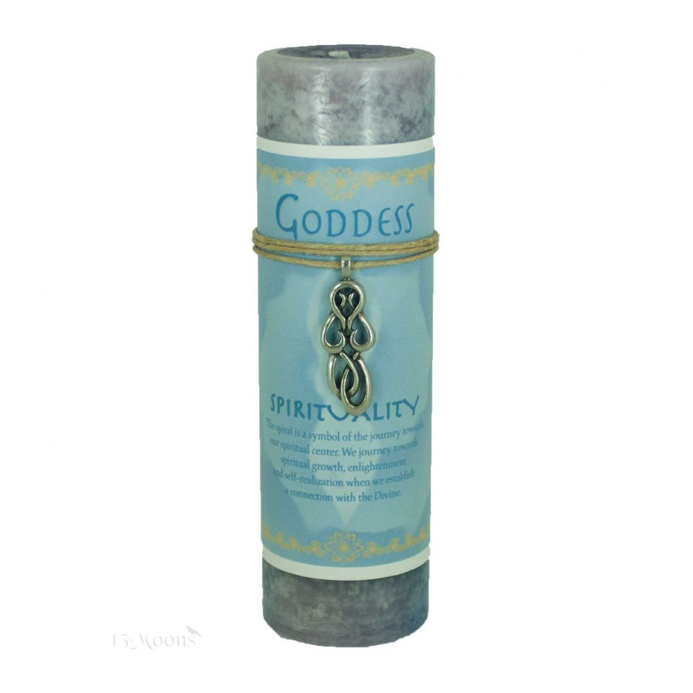 Goddess Spirit Candle with Pendant