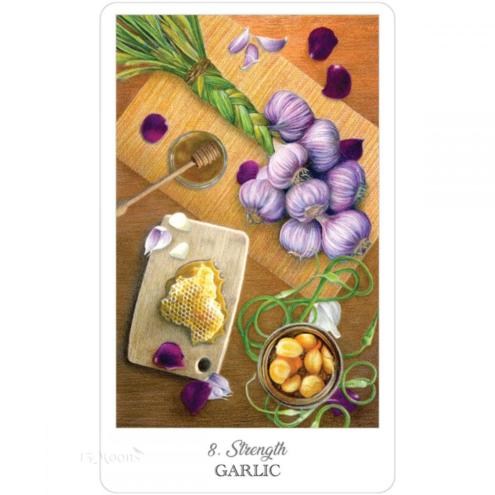 Herbcrafters Tarot Deck and Book