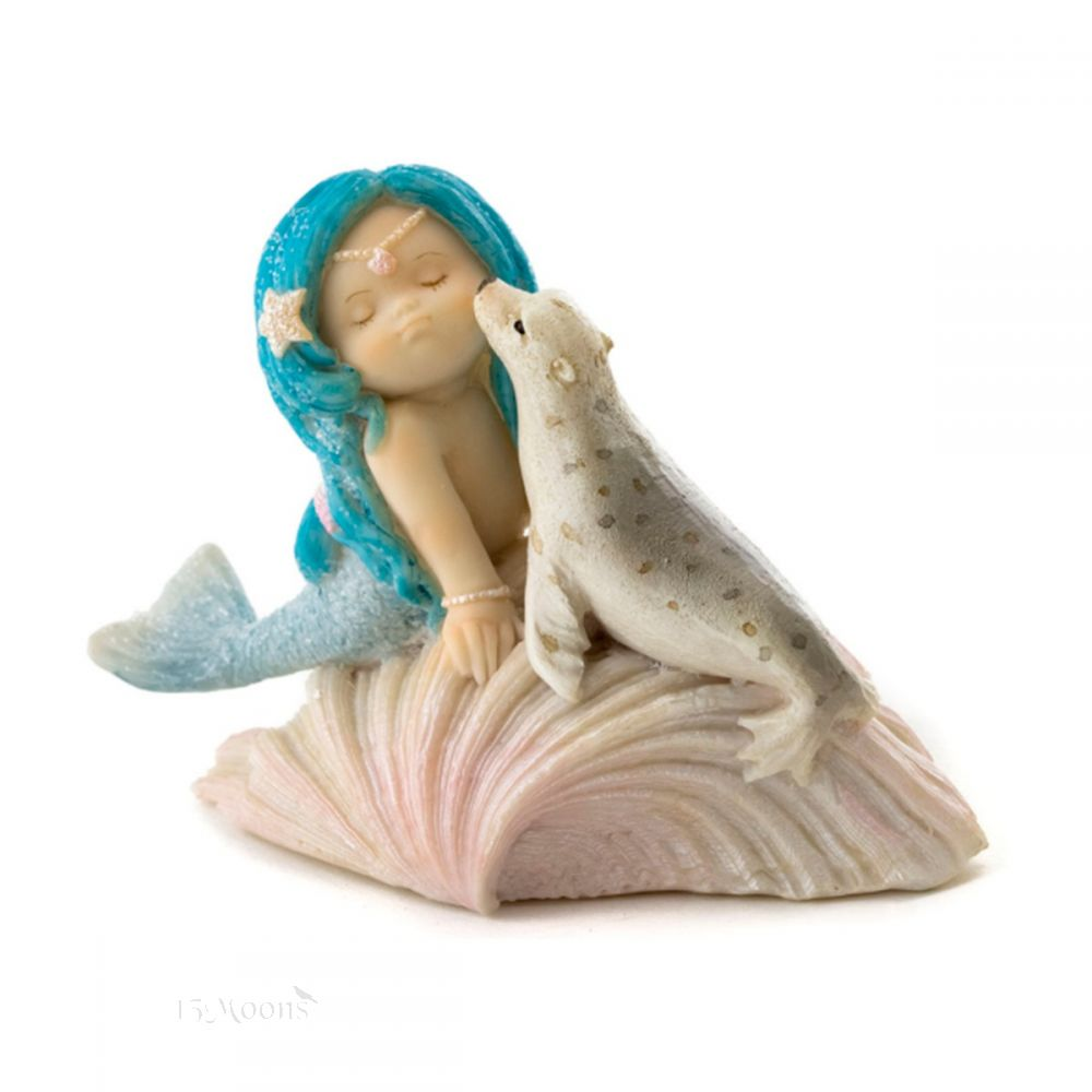 Mermaid and Seal Statue