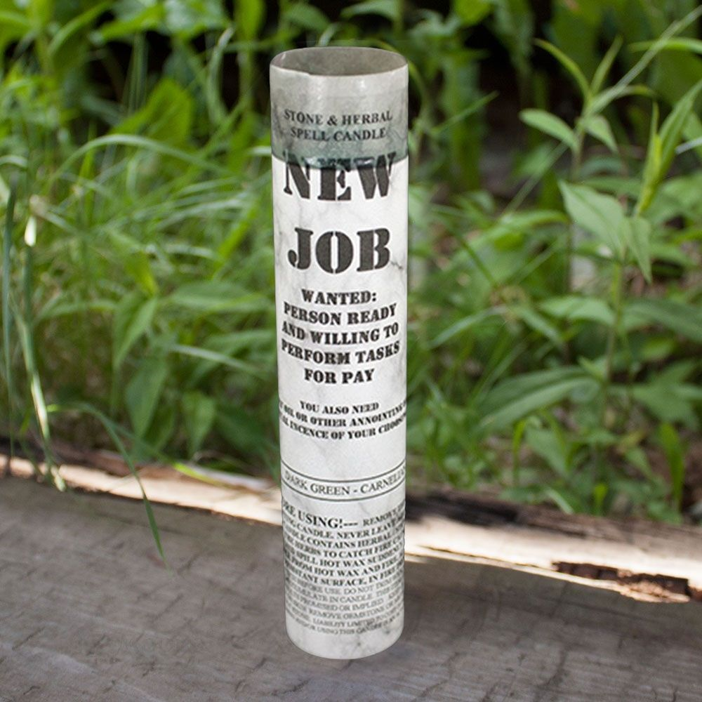 New Job Spell Candle