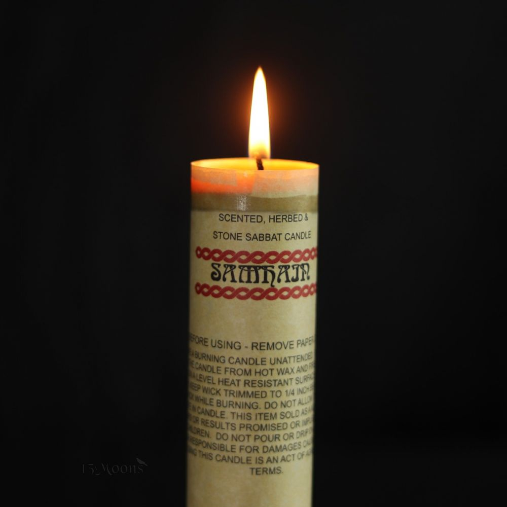 Samhain Spell Candle