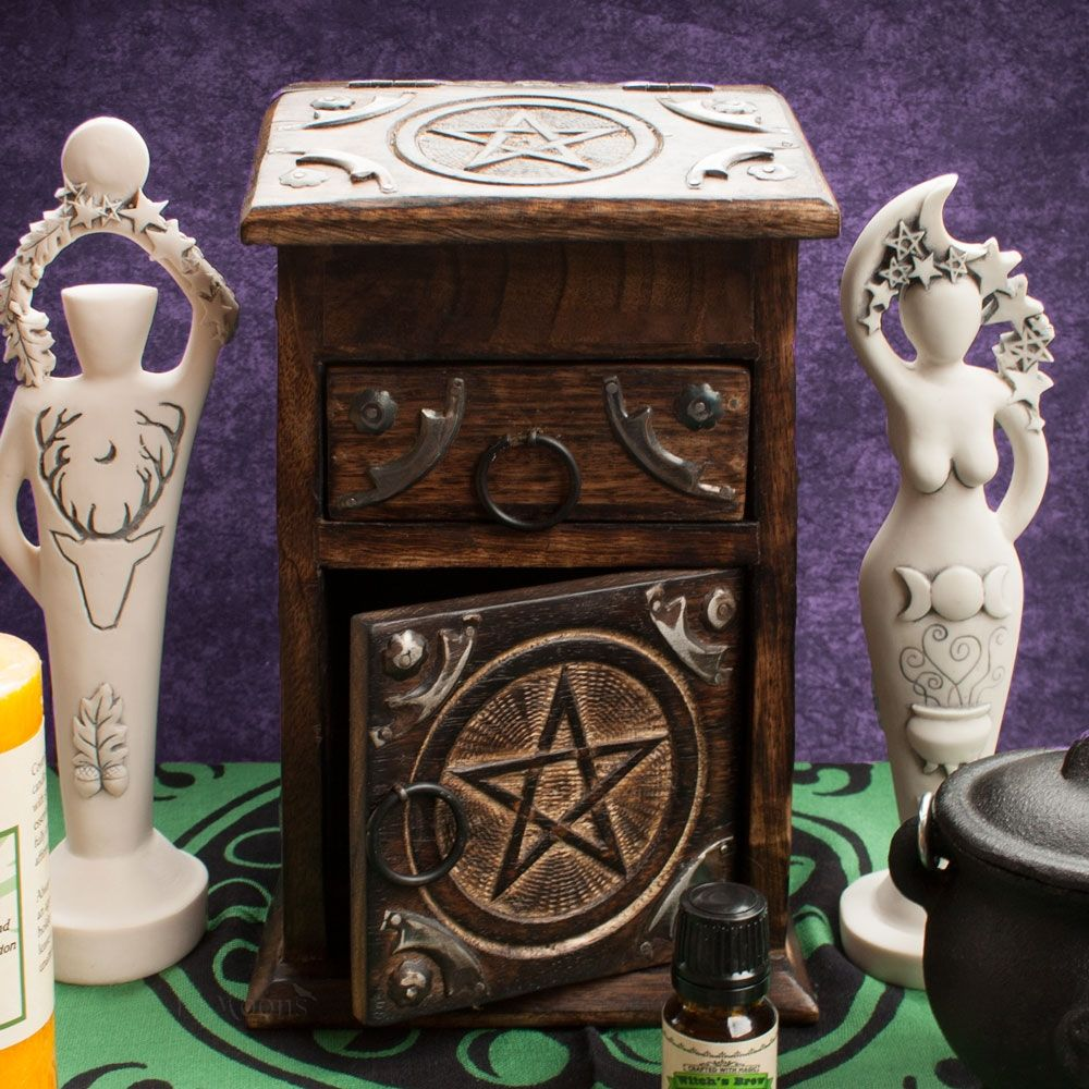 Pentacle Herb Chest