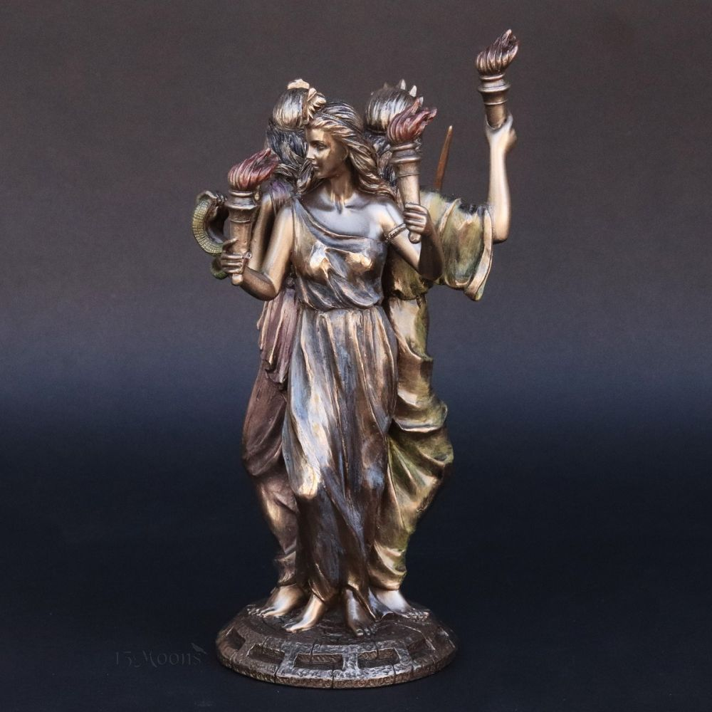 Hecate Triple Form Statue
