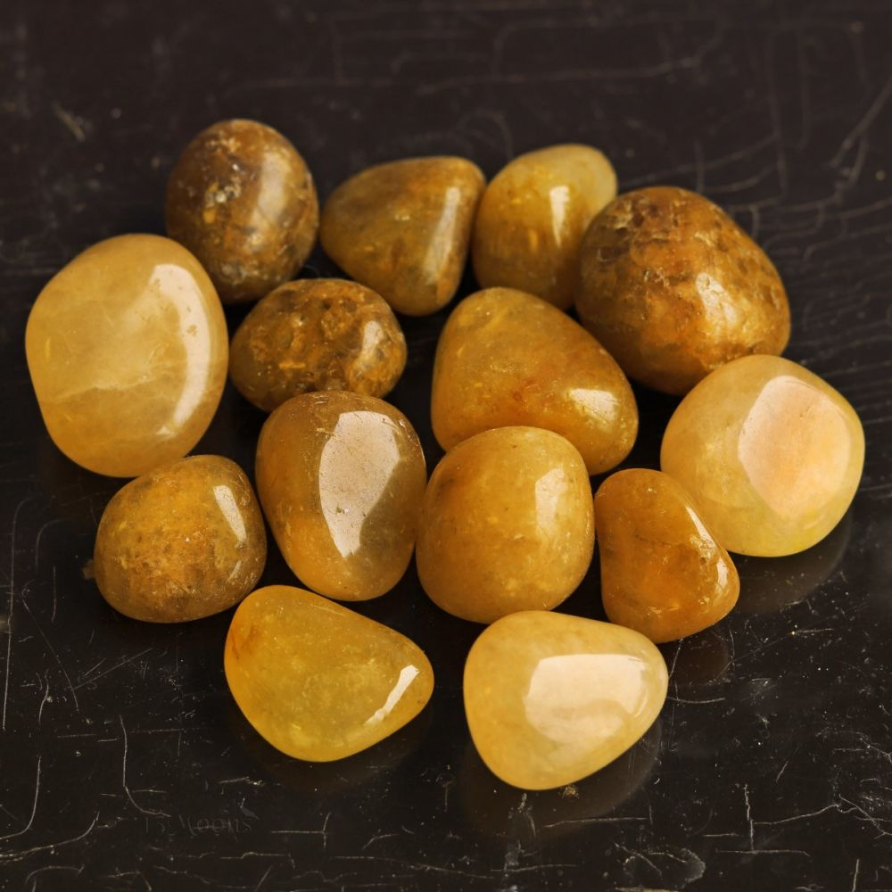 Aventurine, Yellow Tumbled Stone